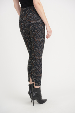 Joseph Ribkoff Cropped Paisley Pants - Product List Image