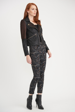 Joseph Ribkoff Cropped Paisley Pants - Alternate List Image