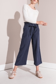 rag poets Cropped Paperbag Pants - Other