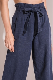 rag poets Cropped Paperbag Pants - Side cropped