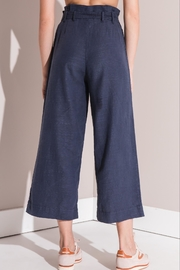 rag poets Cropped Paperbag Pants - Front full body