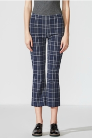 Bailey 44 Cropped Plaid Pant - Product Mini Image