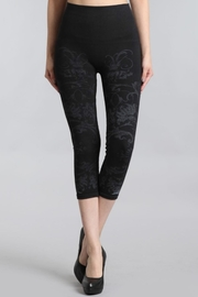 M. Rena Cropped Printed Leggings - Front cropped