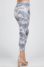 M. Rena Cropped Printed Leggings - Front full body