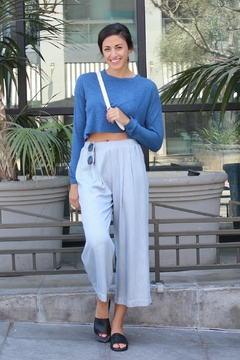 Fifteen Twenty Cropped Relaxed Pant - Alternate List Image