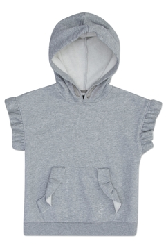 Hudson Cropped Ruffle Pullover - Product List Image