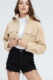 TIMELESS Cropped Sherpa Jacket - Product Mini Image