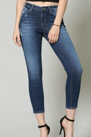 Flying Monkey Cropped Skinny Denim - Product Mini Image