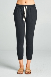 Active Basic Cropped Slim Joggers - Front cropped
