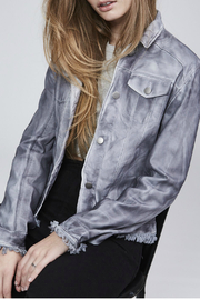Jakett Cropped Steel Jacket - Product Mini Image