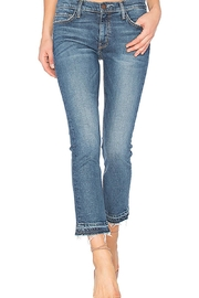 Current Elliott Cropped Straight Jeans - Front cropped