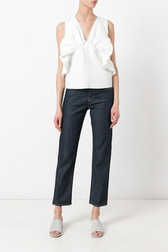 Shoptiques Product: Cropped Straight Jeans
