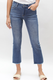Bianco Jeans Cropped Straight Leg Jean - Product Mini Image