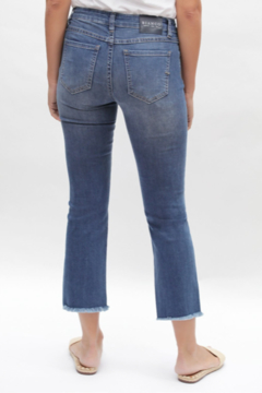 Bianco Jeans Cropped Straight Leg Jean - Alternate List Image