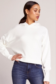 BB Dakota Cropped Sweater Hoodie - Product Mini Image
