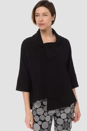 Joseph Ribkoff Cropped Swing Coat - Front cropped