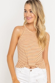 Lush Cropped Tank Top - Front cropped