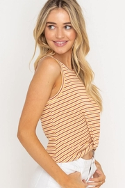 Lush Cropped Tank Top - Side cropped