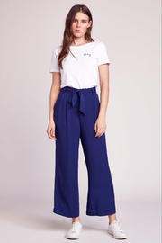 BB Dakota Cropped Tie Pant - Product Mini Image