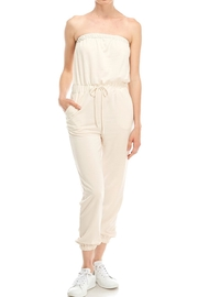 Jolie Cropped Tube Jumpsuit - Product Mini Image
