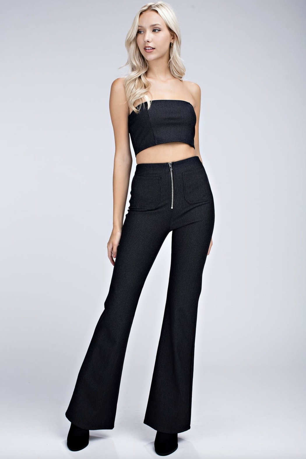 Honey Punch Cropped Tube Top - Side Cropped Image
