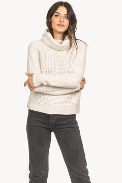 Lilla P Cropped Turtleneck Sweater - Product List Image