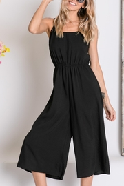 Lyn -Maree's Cropped Wide Leg Jumpsuit - Front cropped