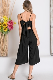 Lyn -Maree's Cropped Wide Leg Jumpsuit - Front full body