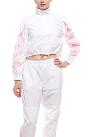 Hot & Delicious Cropped Zipper Windbreaker - Product Mini Image