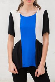 Crosby by Mollie Burch Colorblock Short Sleeve Top - Product Mini Image