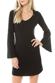 Vava by Joy Hahn Crosella Bell Sleeve V Neck Dress - Product Mini Image
