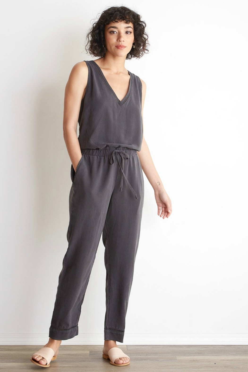 Bella Dahl  Cross Back Jumpsuit - Main Image