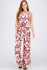 Lulumari Cross Back Jumpsuit - Product Mini Image