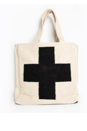 Ink + Alloy Cross Dhurrie Tote Bag - Product Mini Image