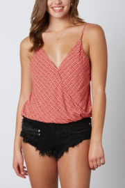 Cotton Candy LA Cross Front Cami - Front cropped