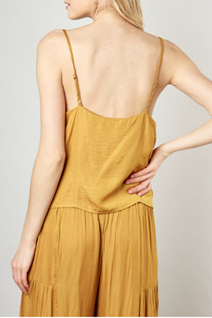 Mustard Seed  Cross-front cropped cami - Alternate List Image