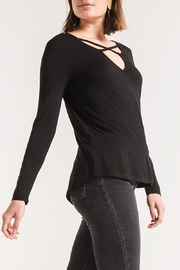 z supply Cross Front Top - Side cropped