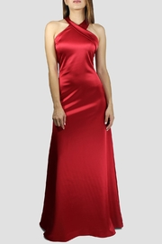 SoZu Cross Halter Gown - Product Mini Image