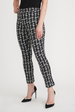 Joseph Ribkoff Cross Hatch Cropped Pants - Product List Image