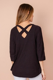 Simply Noelle Cross-It-Off Cotton Top - Product Mini Image