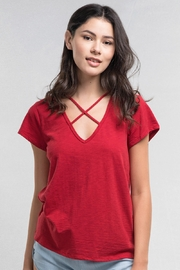 Lovestitch Cross My Heart T - Front cropped