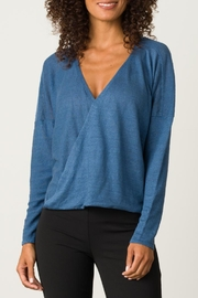 Margaret O'Leary Cross Over Pullover - Product Mini Image