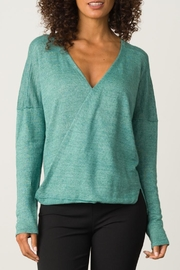 Margaret O'Leary Cross Over Pullover - Front cropped