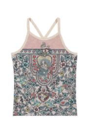 Paper Wings Cross Over Singlet Tank Top - Product Mini Image