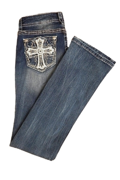 Grace in L.A. Cross Pocket Jeans - Product List Image