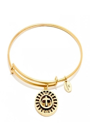 Chrysalis Cross Gold Bangle - Product Mini Image