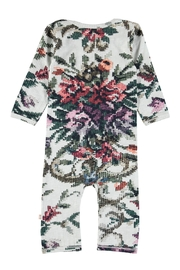 Molo Cross Stitch Playsuit - Front full body