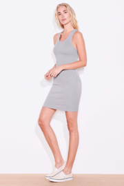 Sundry Crossback Tank Dress - Front cropped