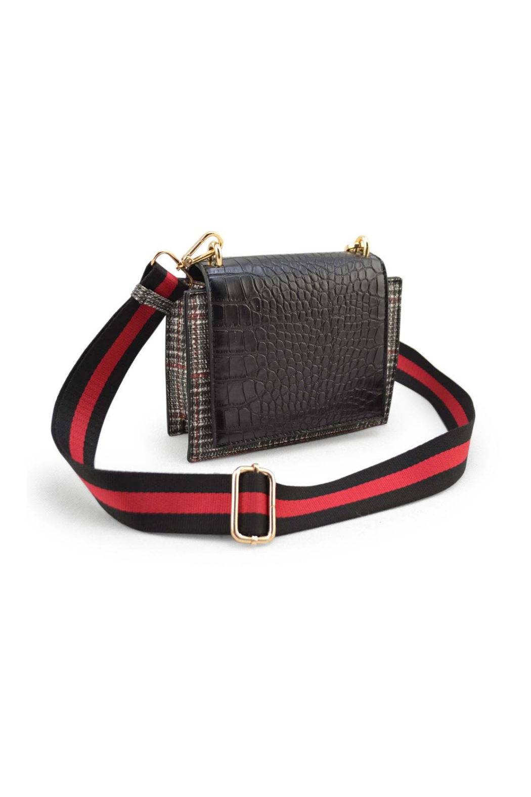 Sondra Roberts Crossbody with Flap - Front Cropped Image