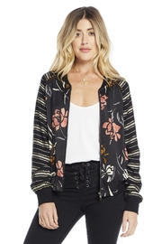 Saltwater Luxe Crossfire Bomber Jacket - Product Mini Image